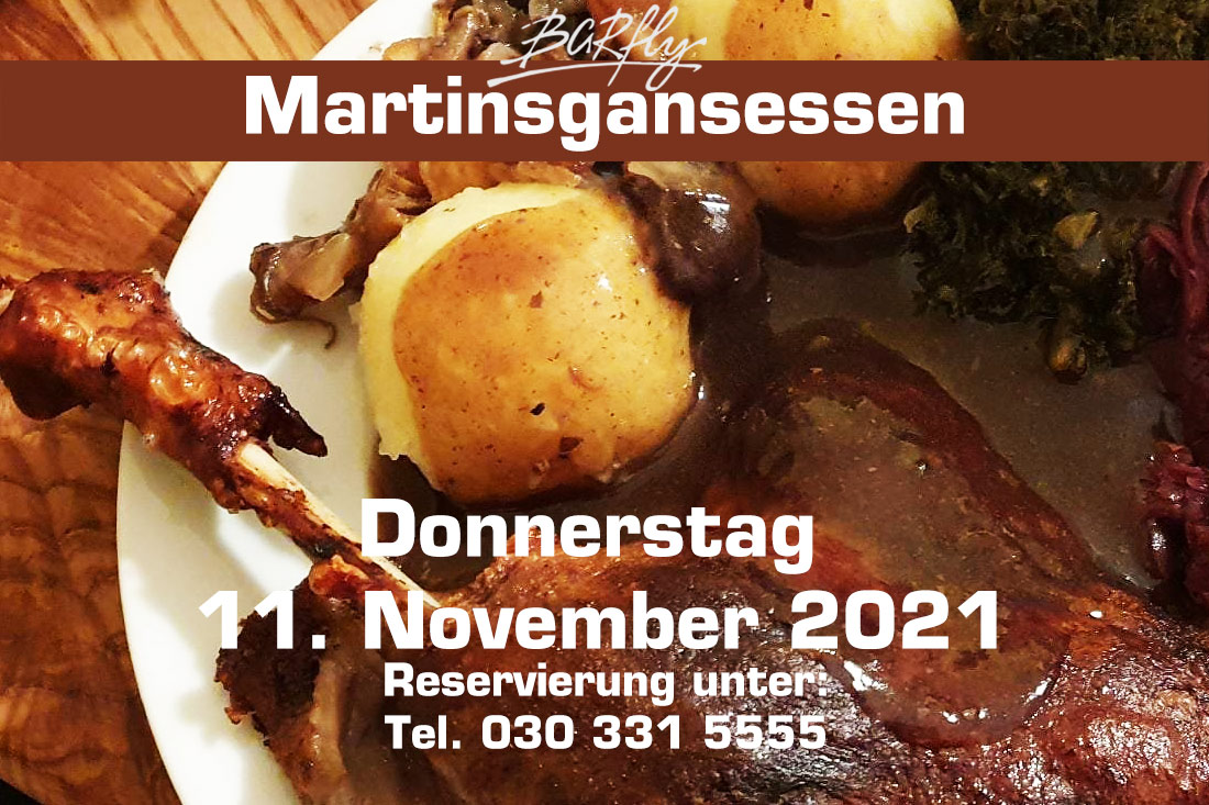 Martinsgansessen am 11.11.2021